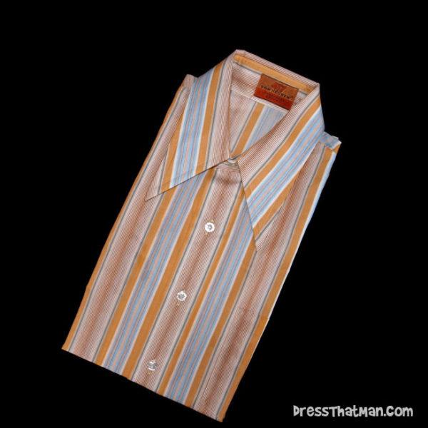 Retro collar shirts