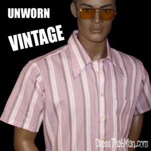 70s big collar shirts